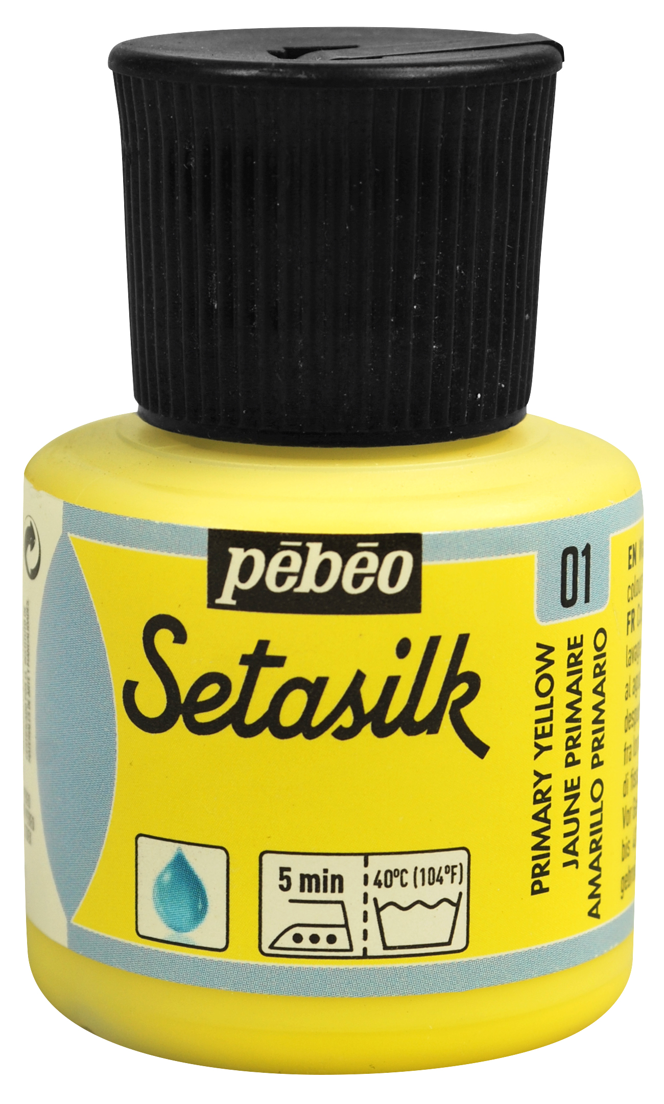 01 Primary Yellow Setasilk Paint
