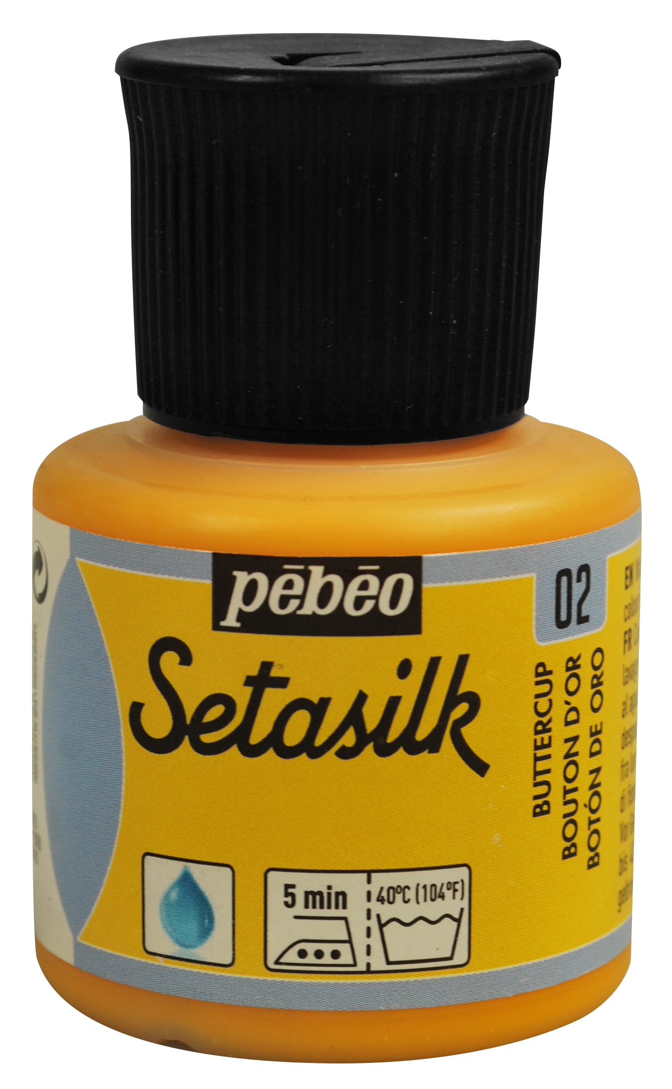 02 Buttercup Yellow Setasilk Paint