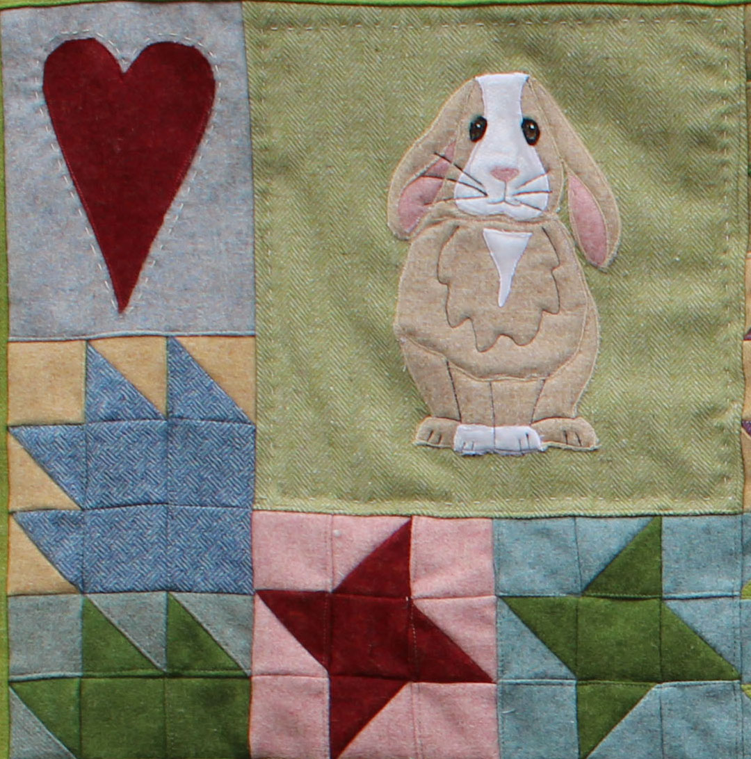 Bunny Love block of the month