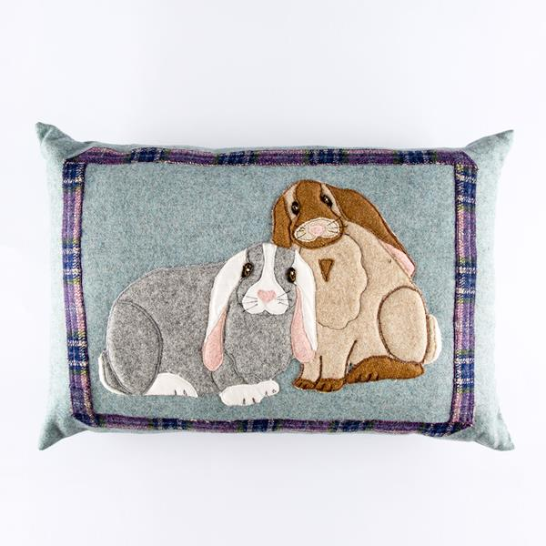 Bunny Bonkers Pillow Sewing pattern