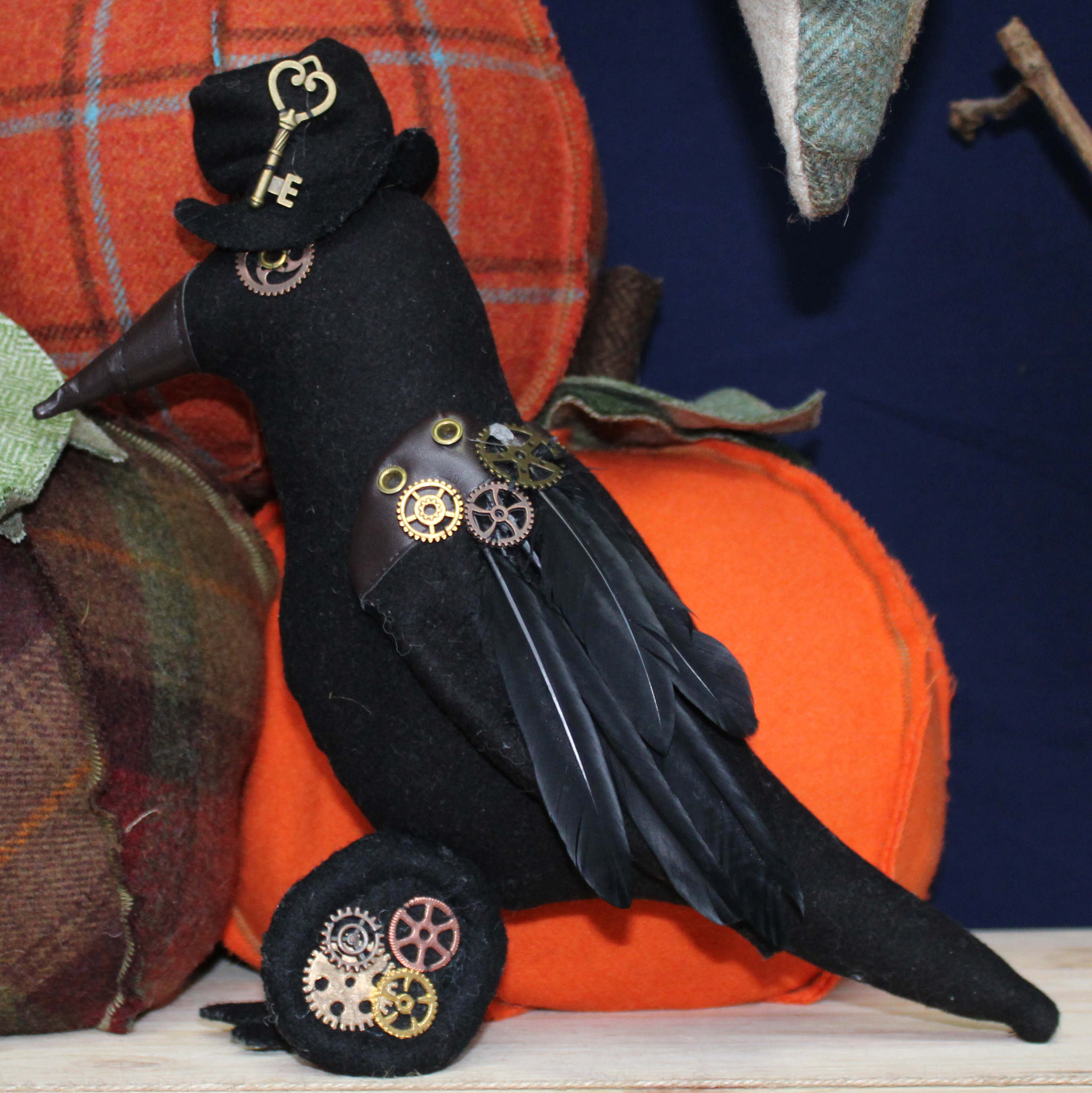 Crawford the Crow Sewing Pattern