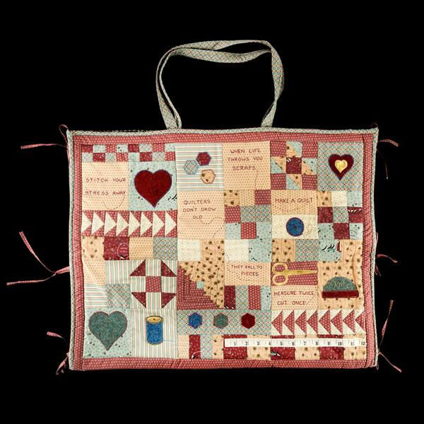 Cut and Go, cutting mat bag, patchwork sewing pattern