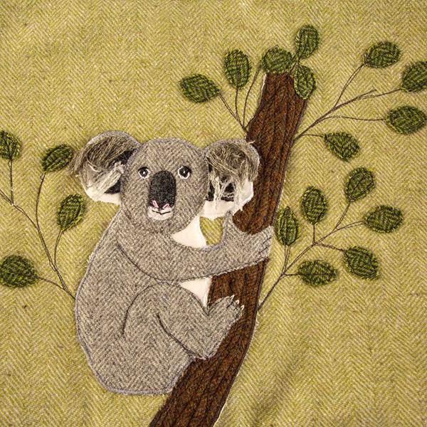 Hug a Tree (not me) Koala Bag Sewing Pattern