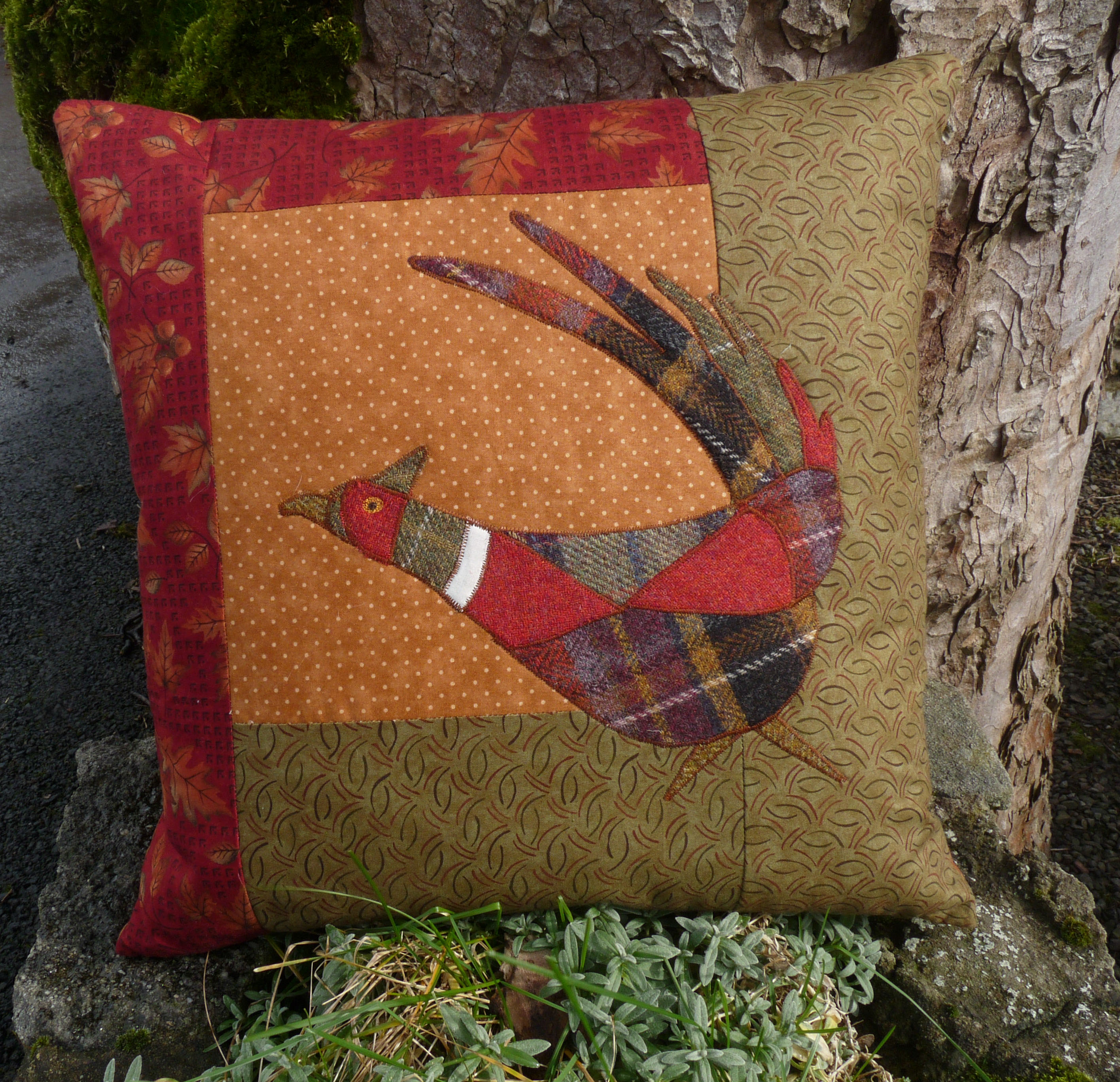 Pleasant Pheasant pattern