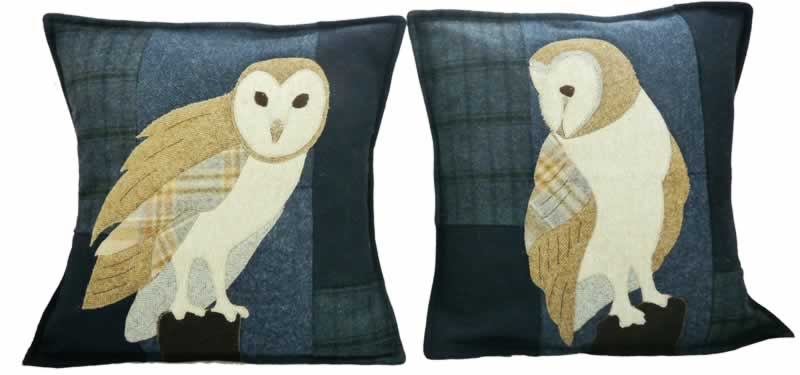 Barn Owl Cushion Kit