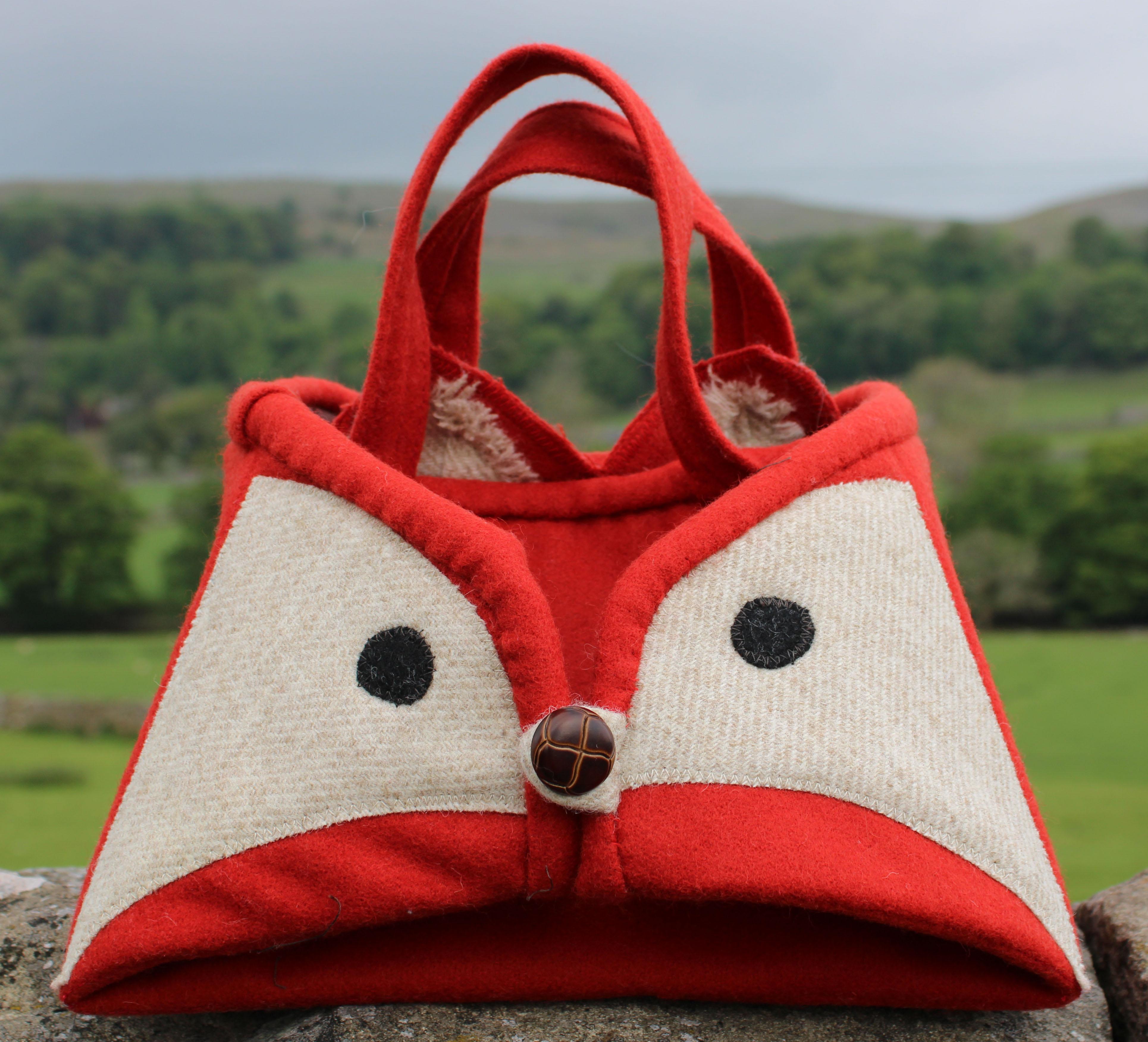 Fox Iron Caddy Sewing Kit
