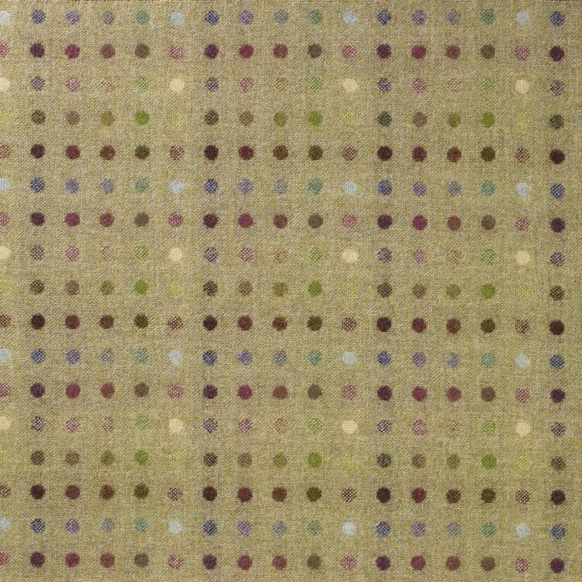 Multispot Lime, British Wool Tweed Fat Quarter