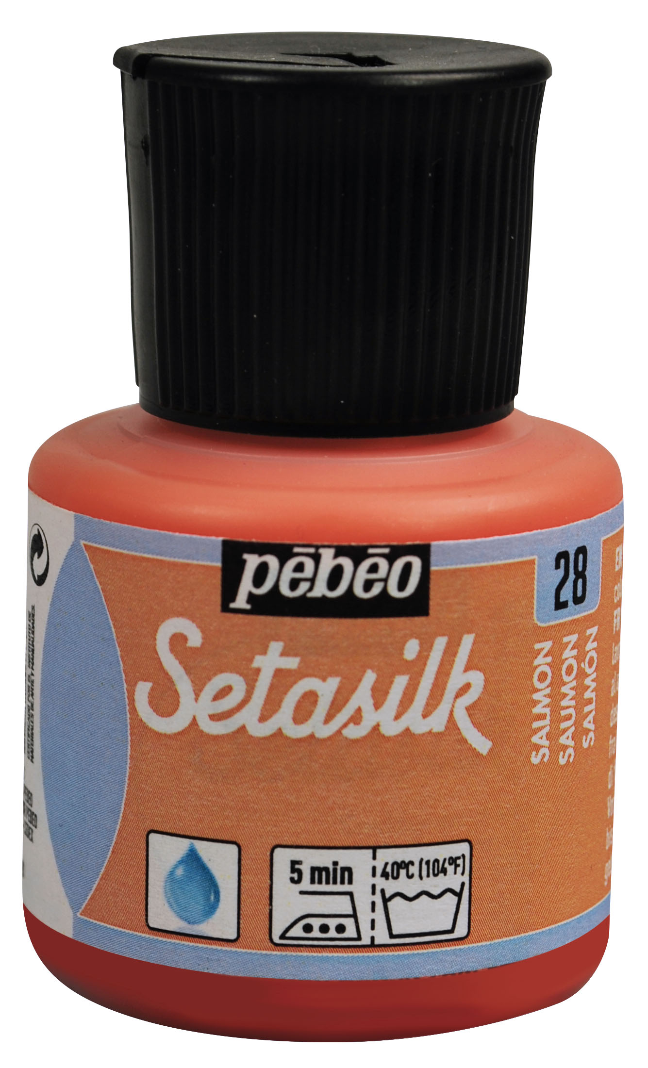 28 Salmon Setasilk Paint