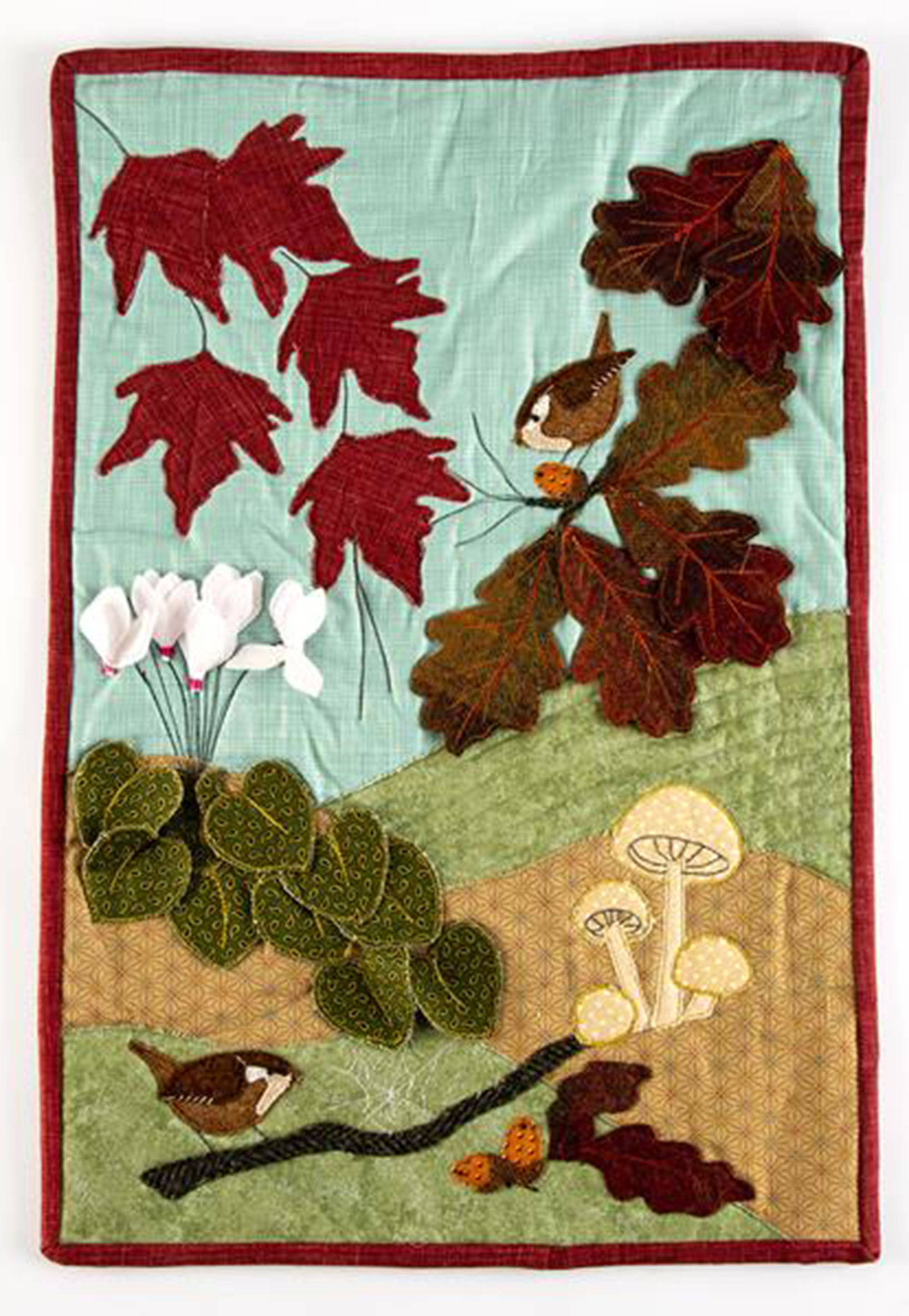 Autumn companions Wall Hanging Sewing Pattern