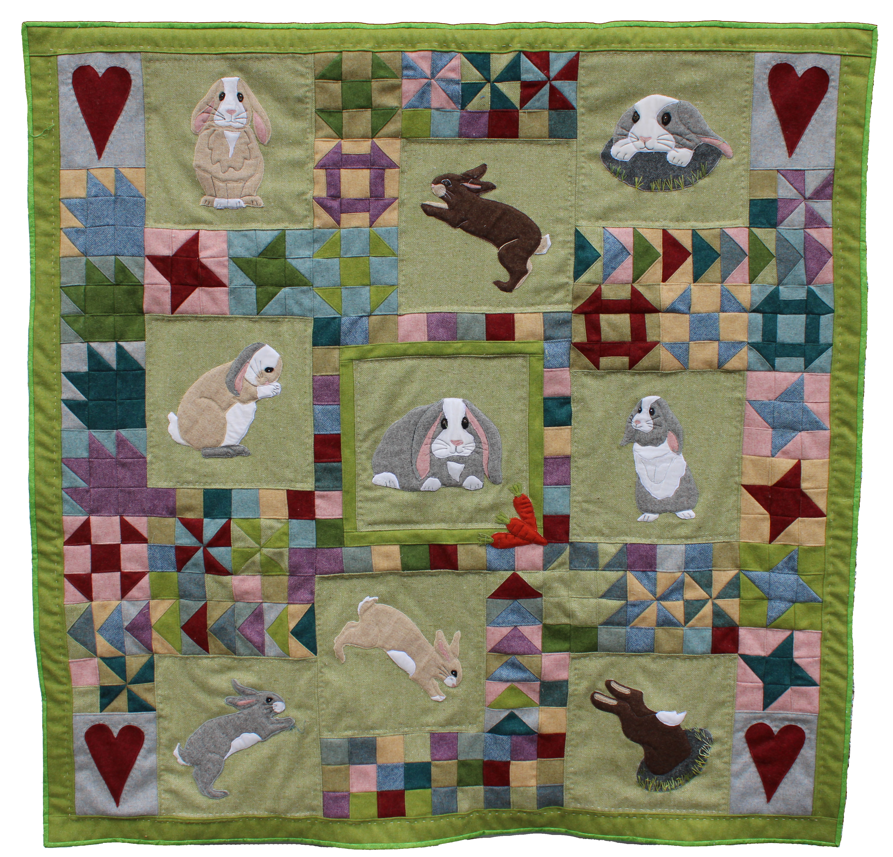 Bunny Love full quilt kit