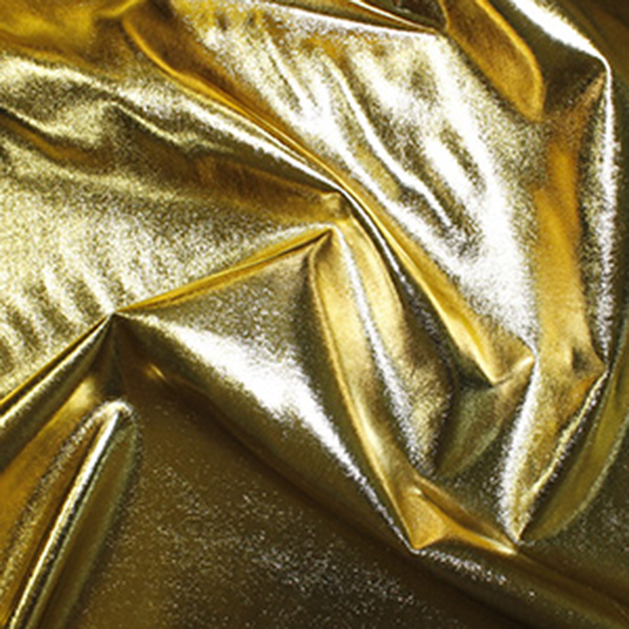 Gold Metallic Fabric, Fat Quarter, also known as Emperor Foil