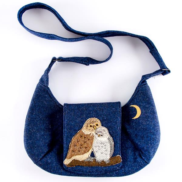 Hazels Bag with Little Owl Applique Sewing Pattern