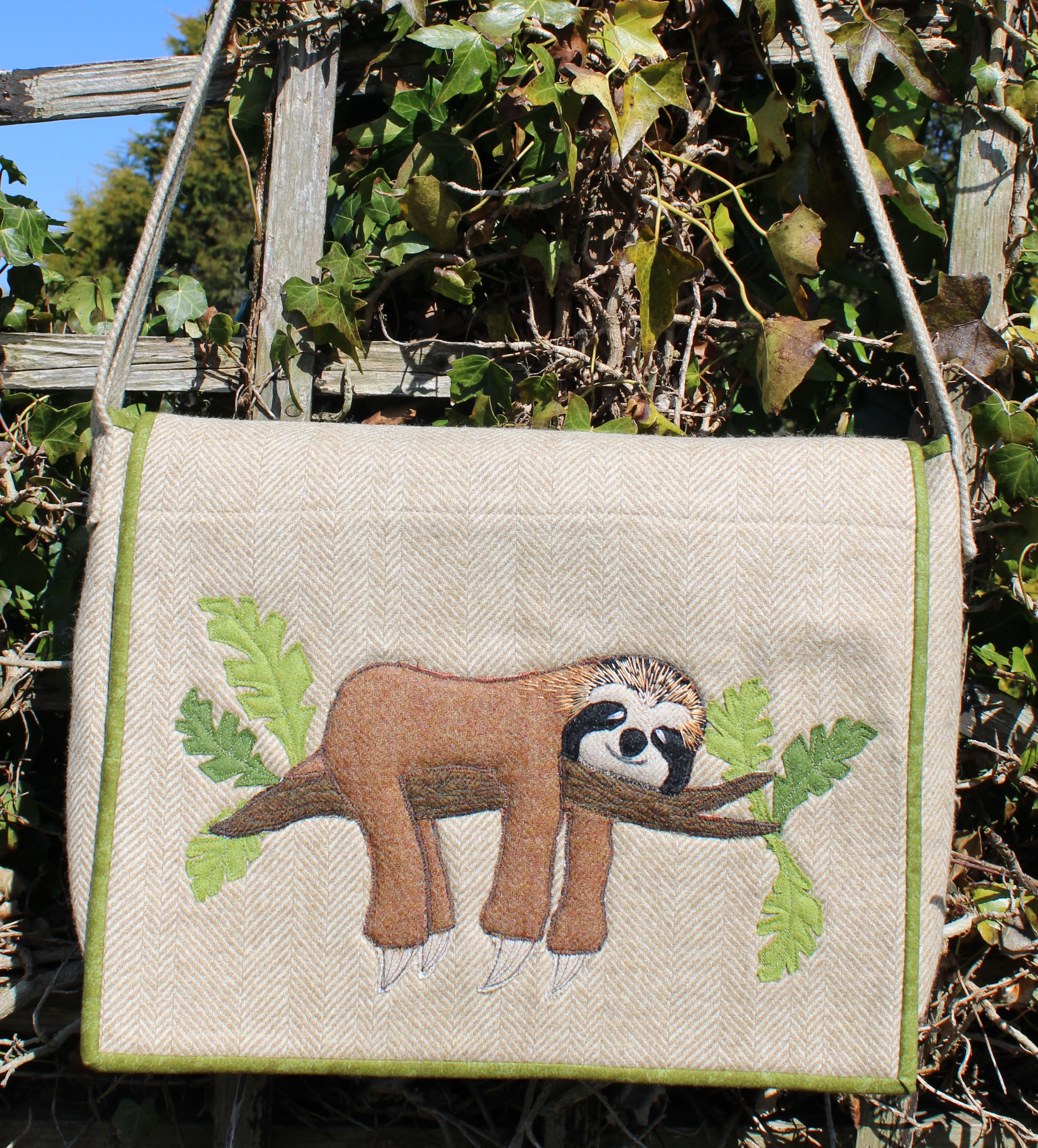 Chill Out, Sloth Bag Sewing Pattern