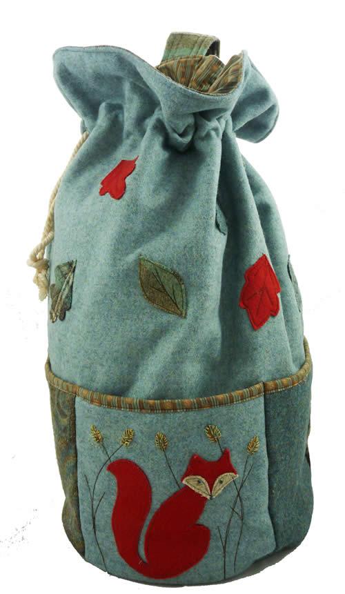 Crafty Little Fox Duffel Bag