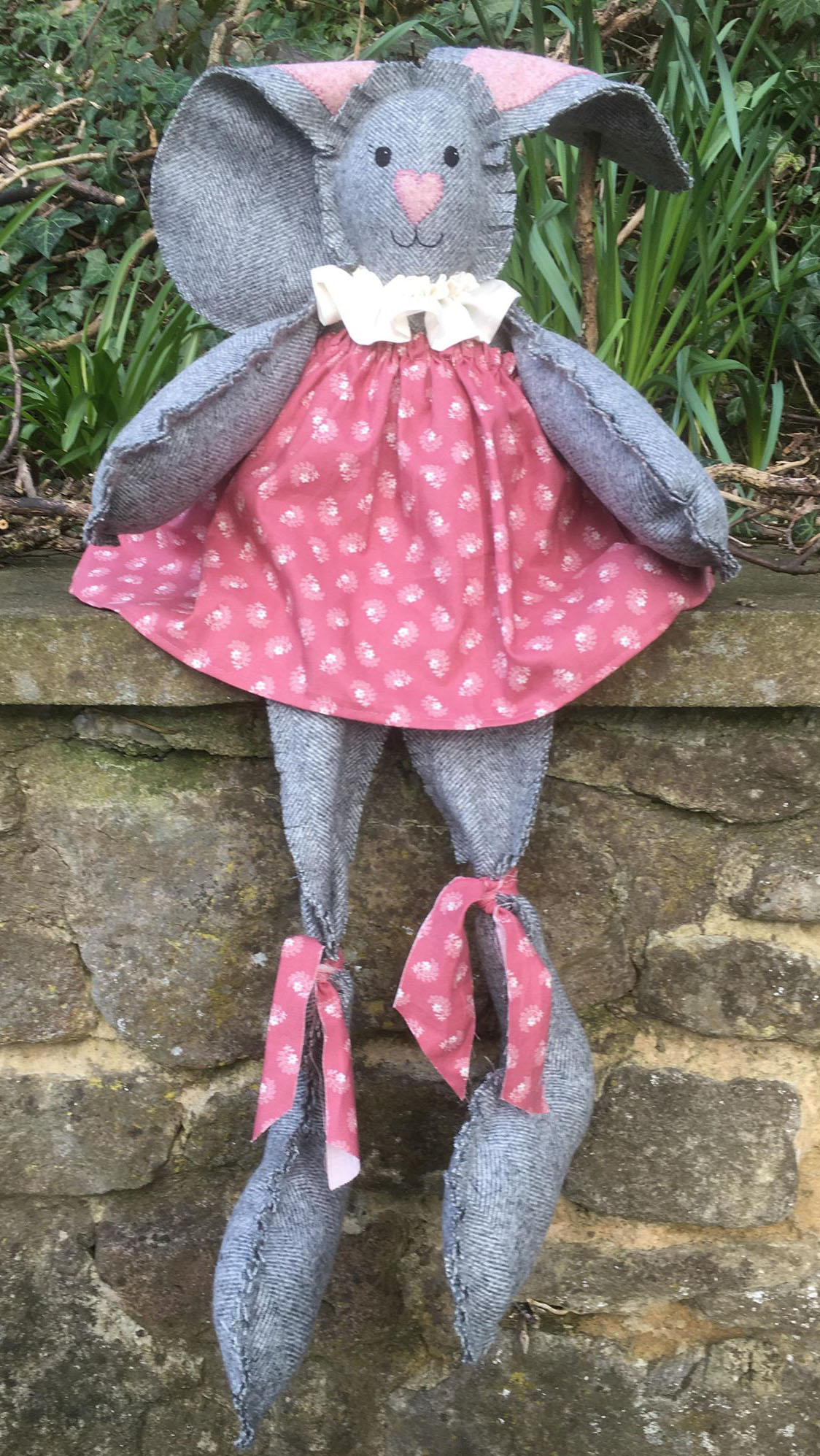 Betsy Bunny Doll Sewing Pattern