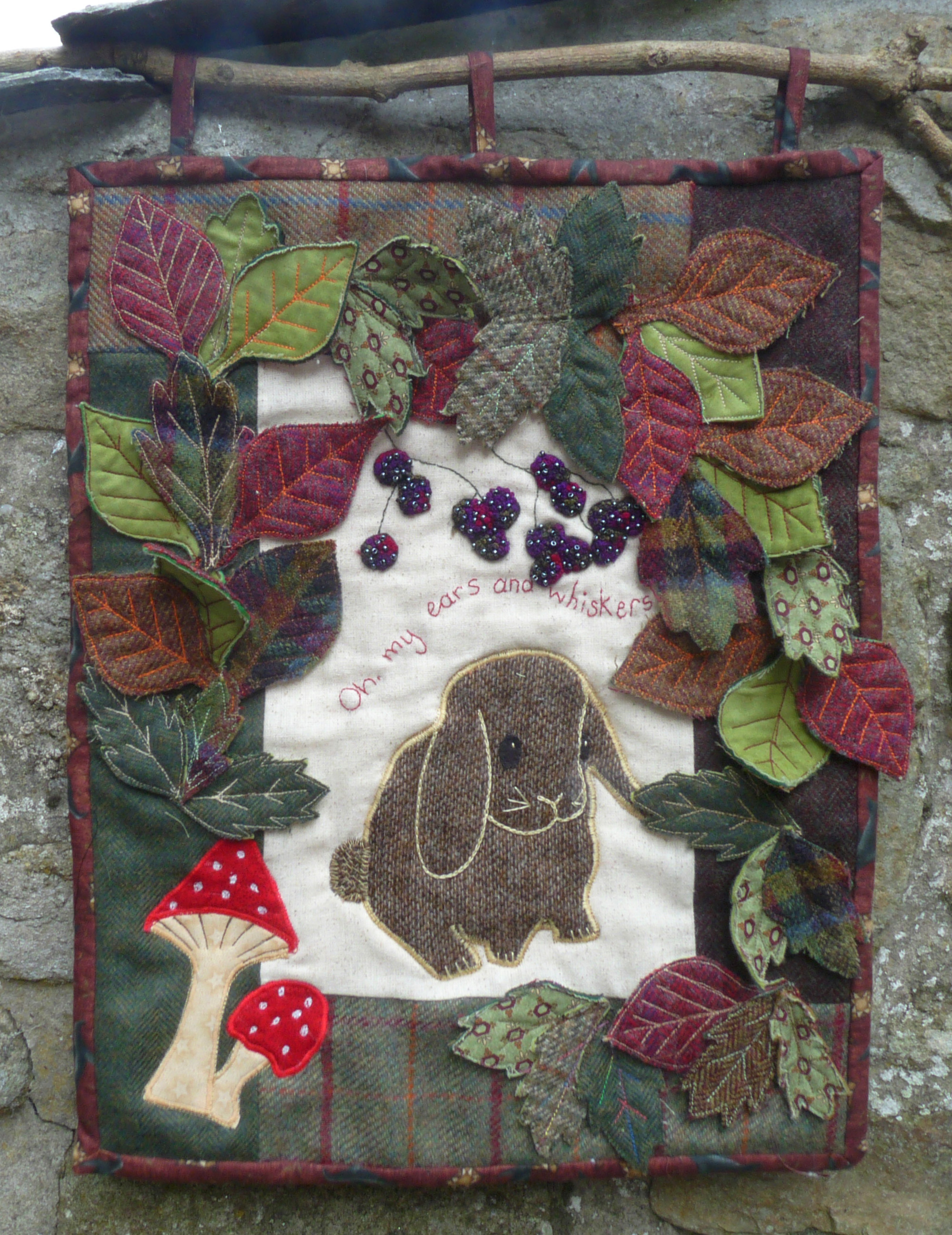 Bunny in the Brambles Tweed Pack