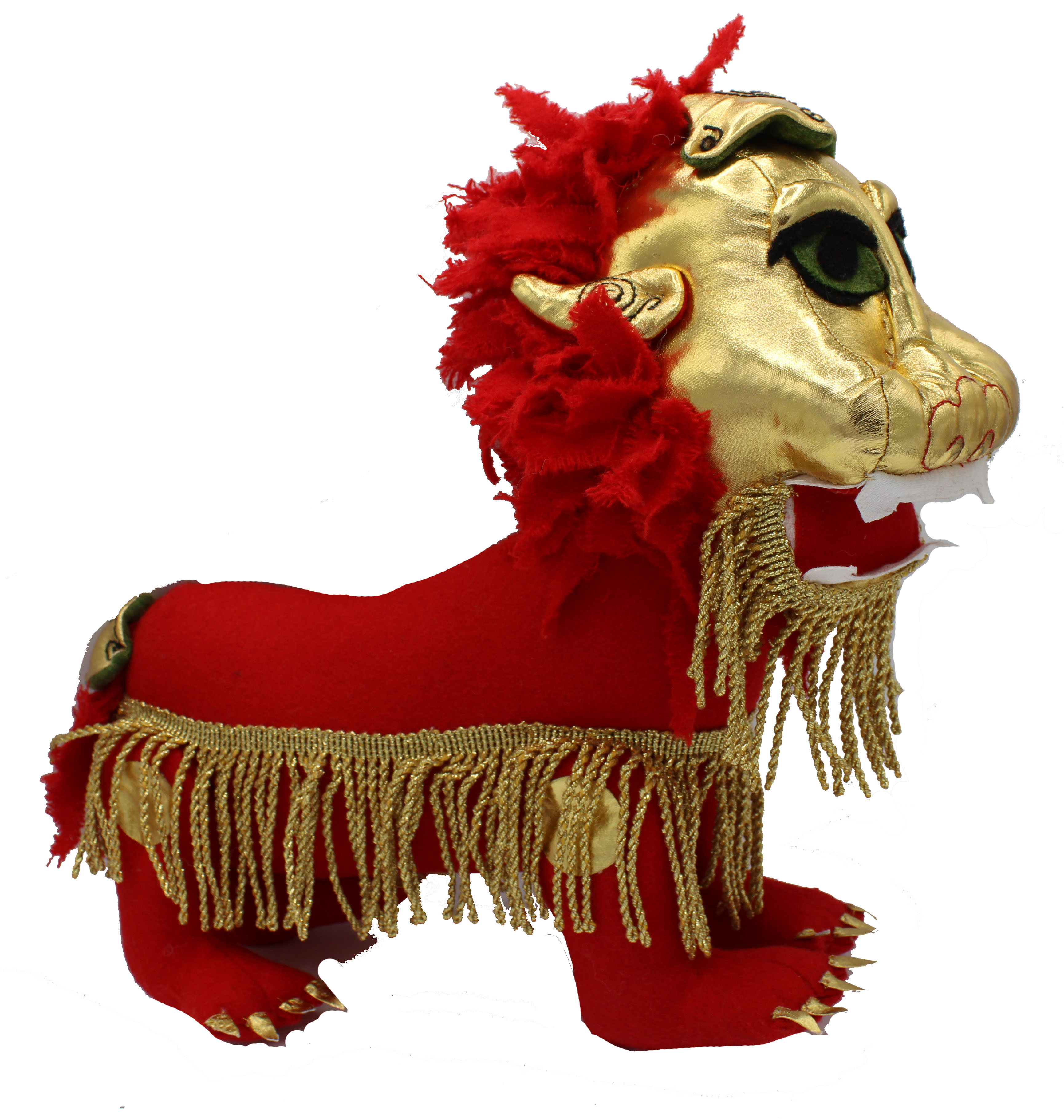 Chinese Lion Character Doll Sewing Pattern