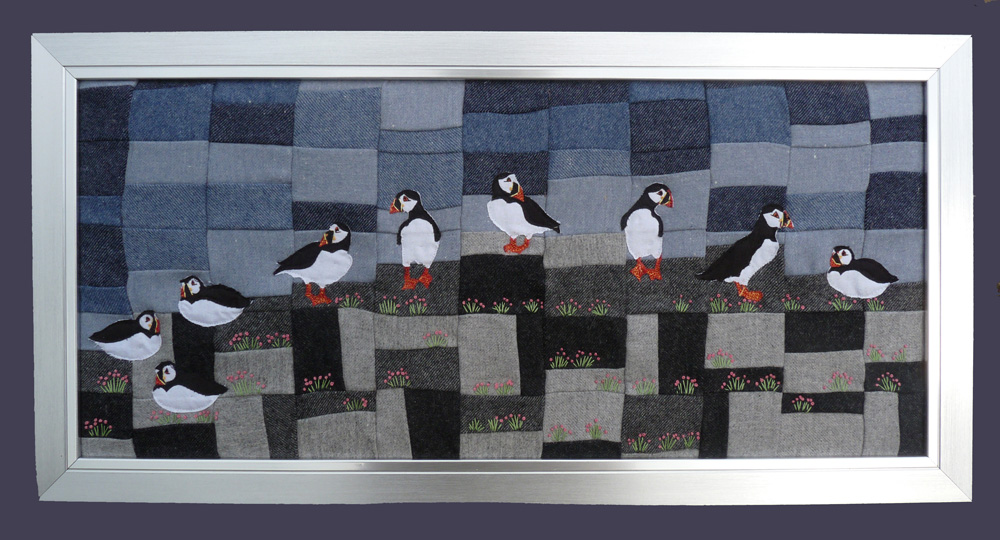 Puffin Bay pattern