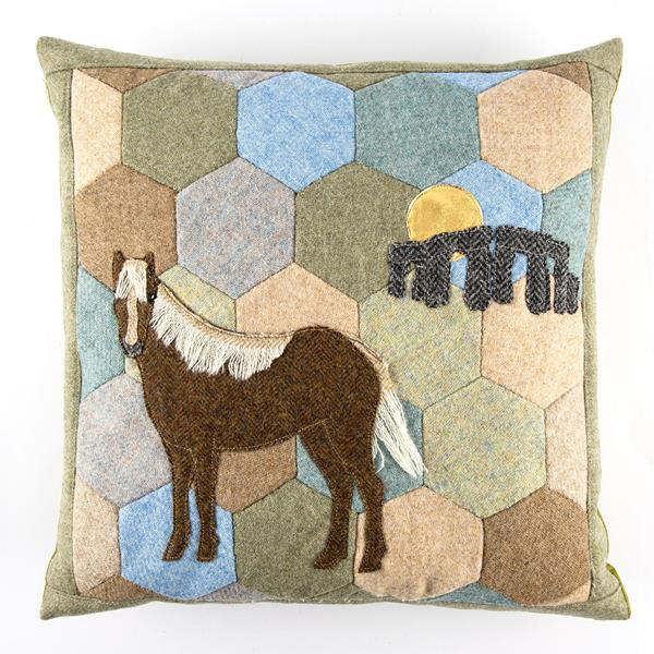 A Very English Cushion patchwork Kit