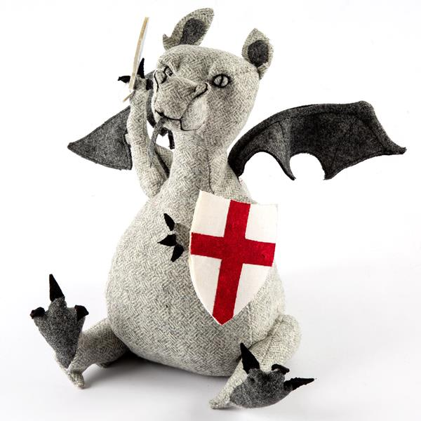 George Dragon Doorstop Sewing Pattern