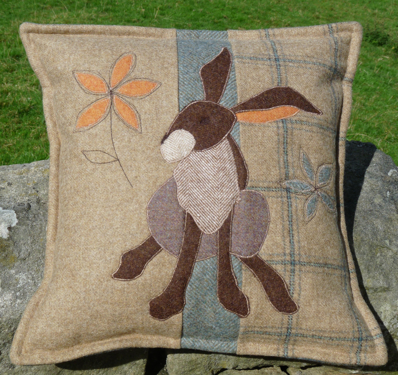 Hare Affair Cushion Sewing Pattern