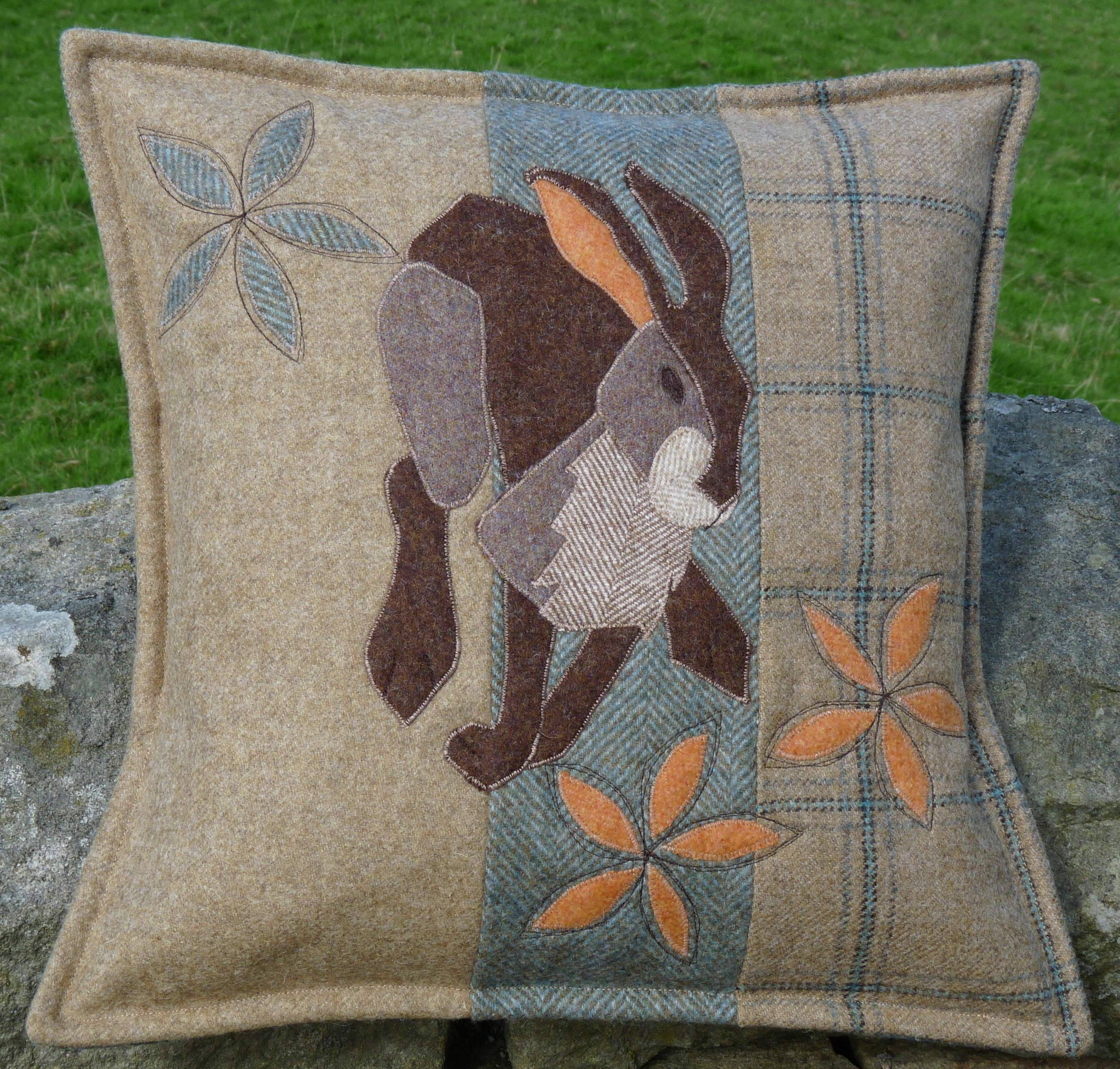 Hare Today Cushion Sewing Pattern