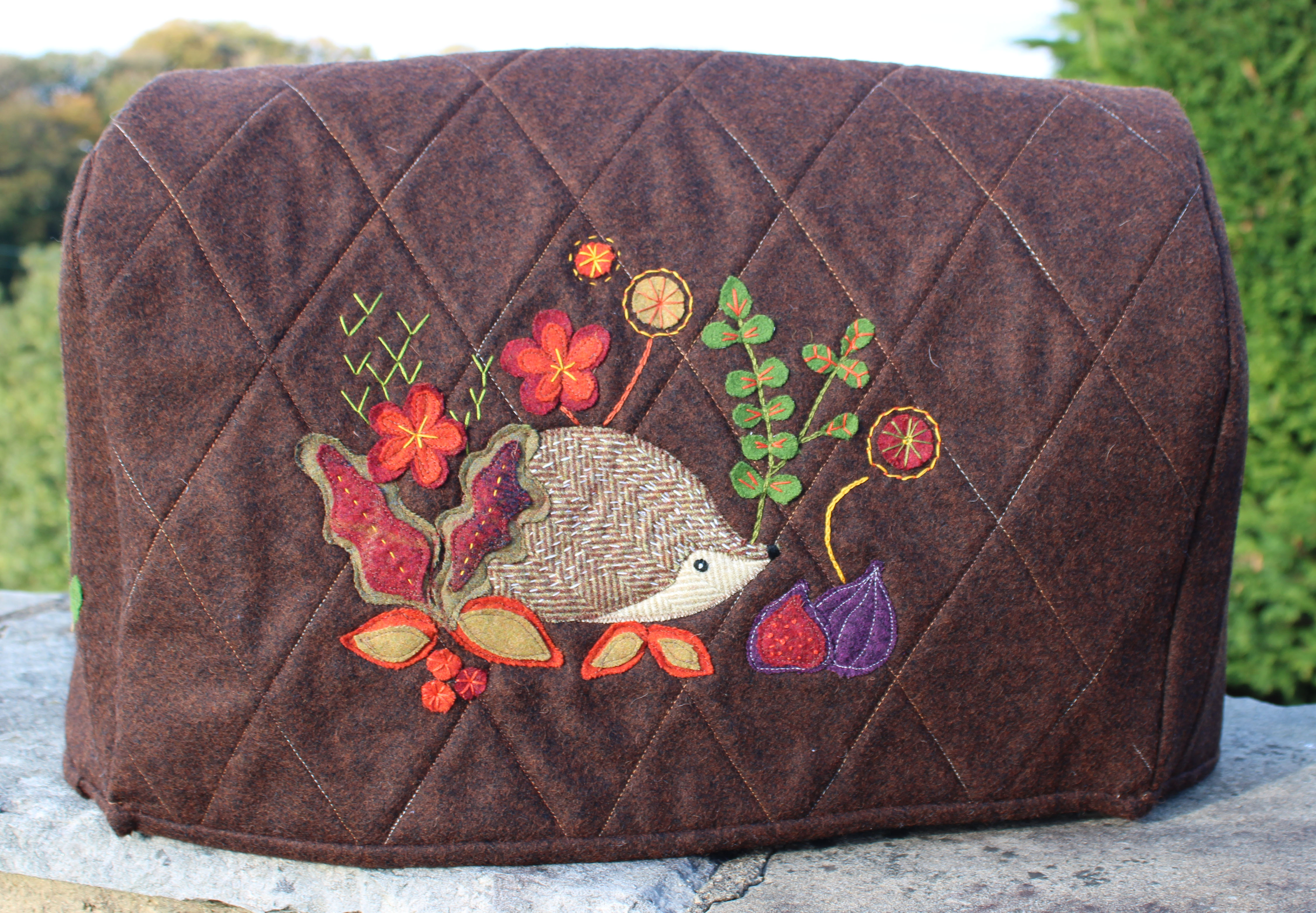 Hedgerow, Sewing Machine Cover Applique pack