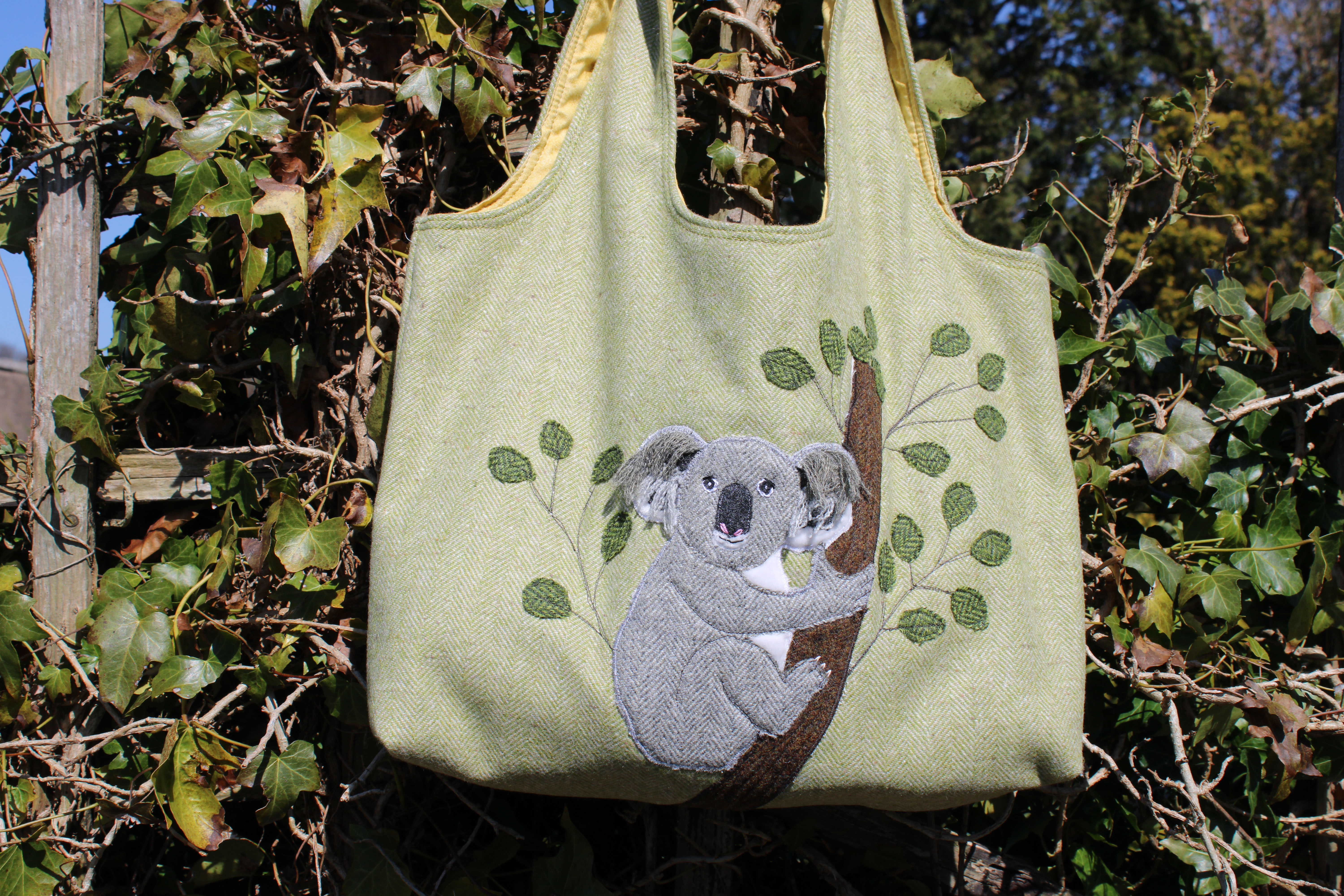 Hug a Tree (not me) Koala Bag starter pack