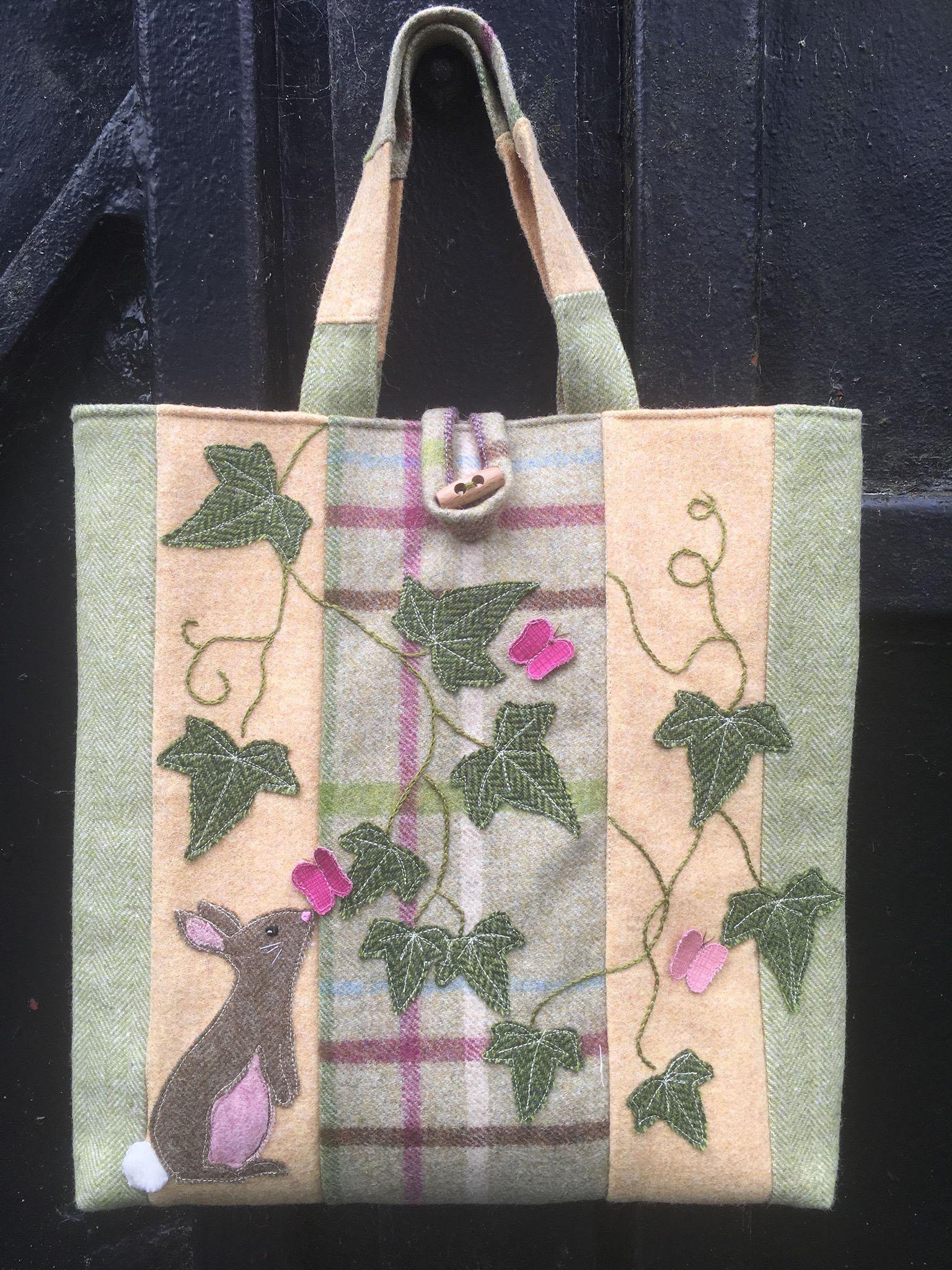 Maria's Bag Tote Bag Sewing Pattern.