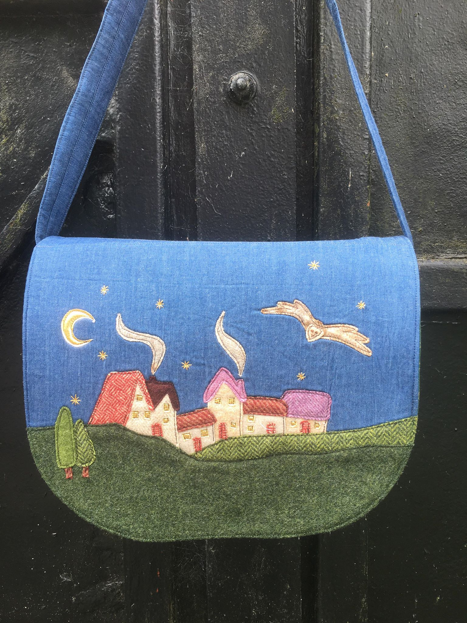 Night Time is Coming Handbag Sewing Pattern