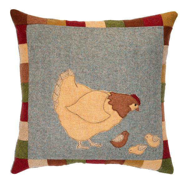 Owd Mother Hen Patchwork Cushion Kit