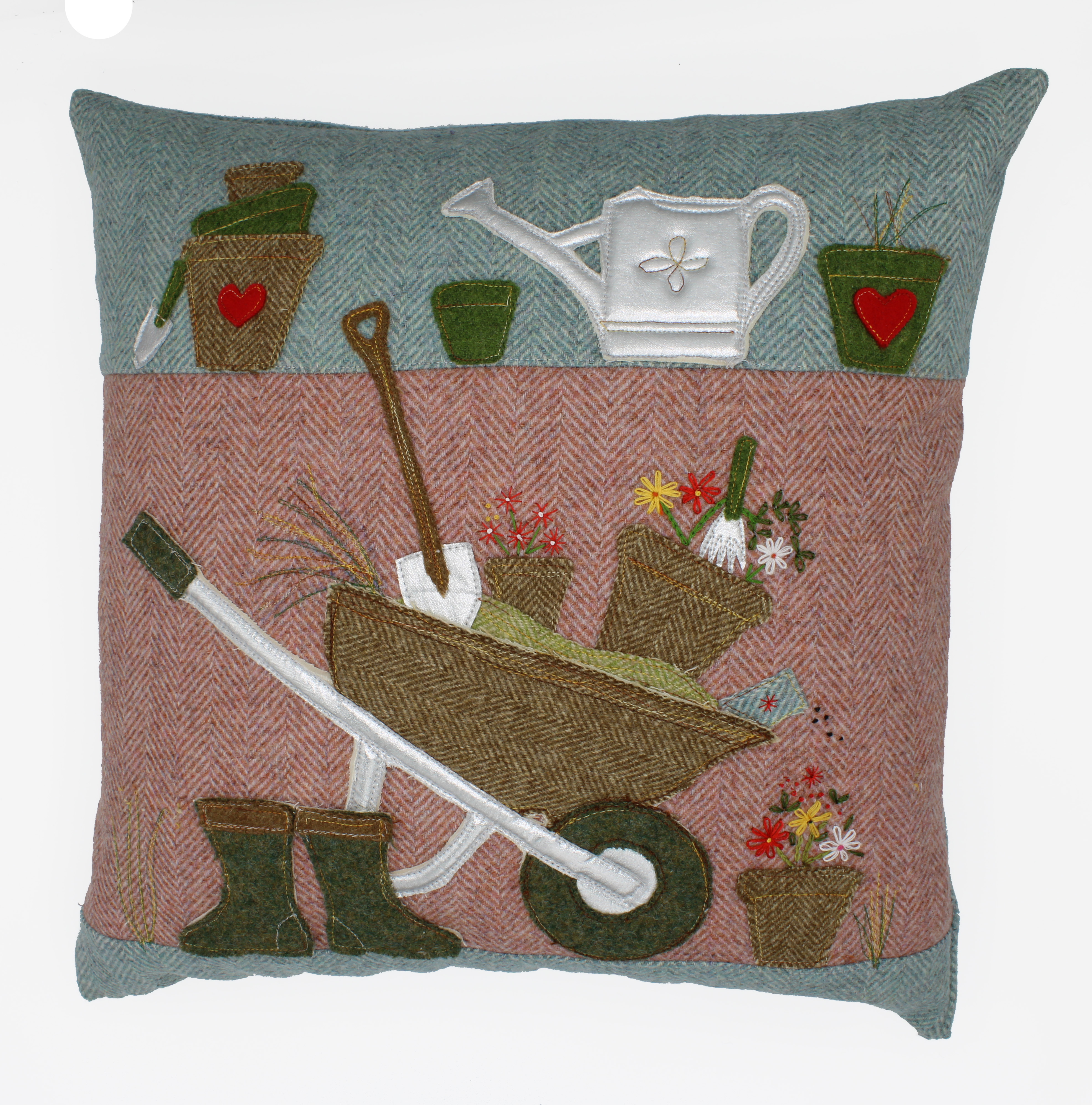 Potting Shed Cushion Sewing Pattern