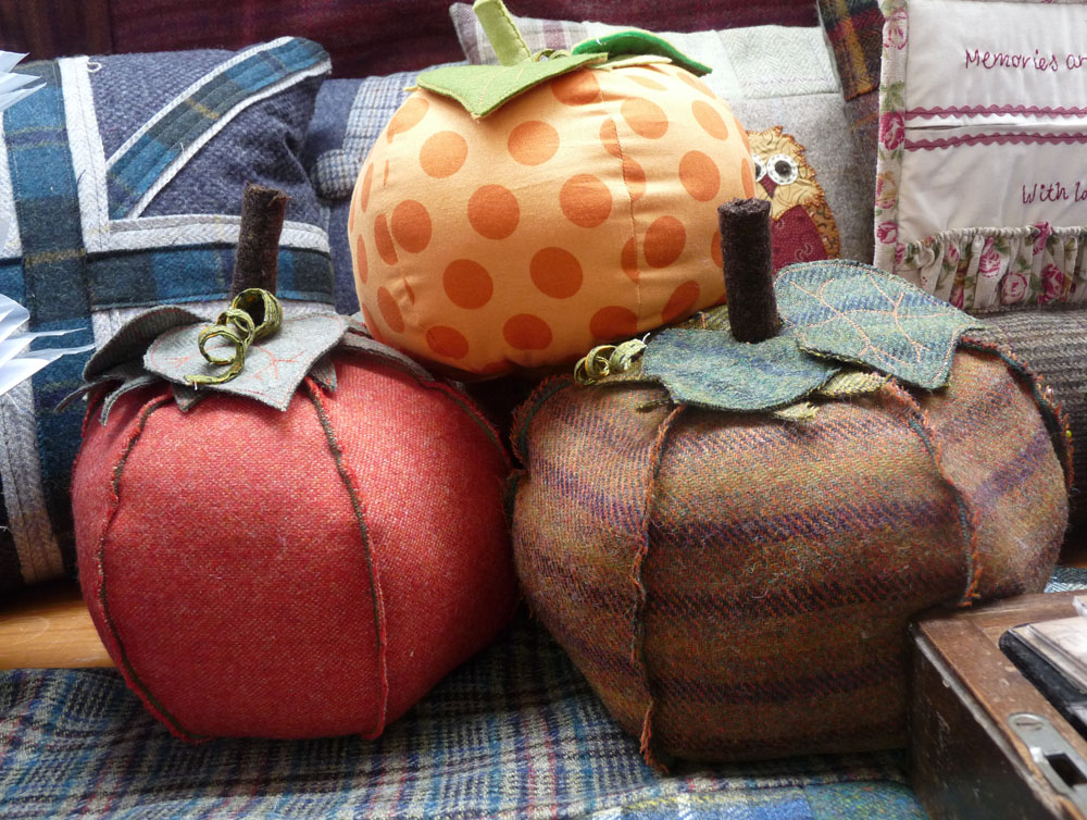 Pumpkin Doorstop Sewing Kit