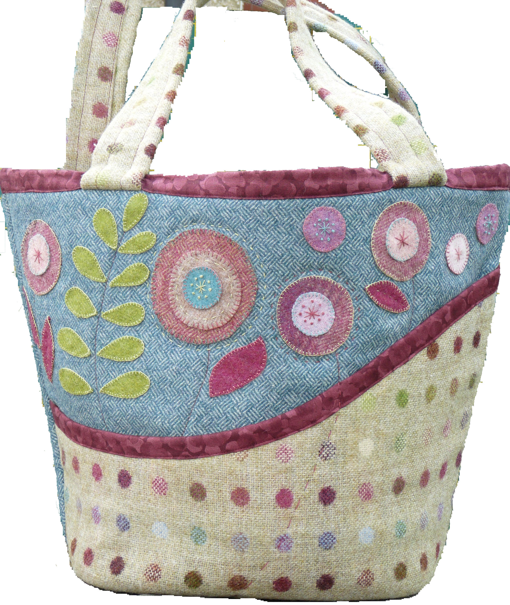 Absolutely Blooming Bag Sewing Pattern