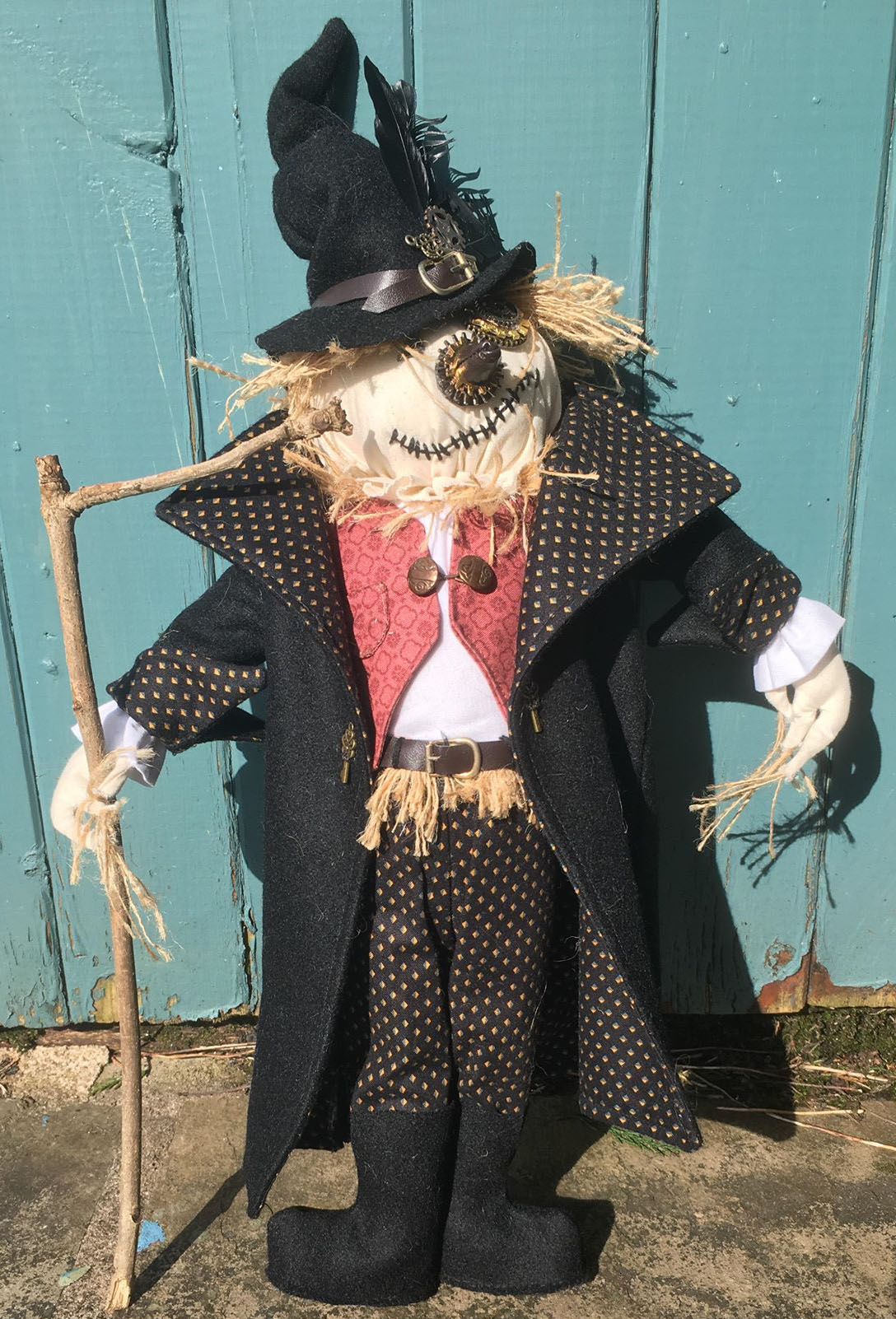 Seth Scarecrow Character Doll Sewing Kit