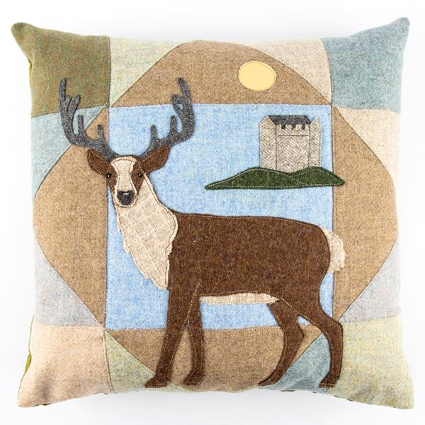 A Very Scottish Cushion sewing pattern