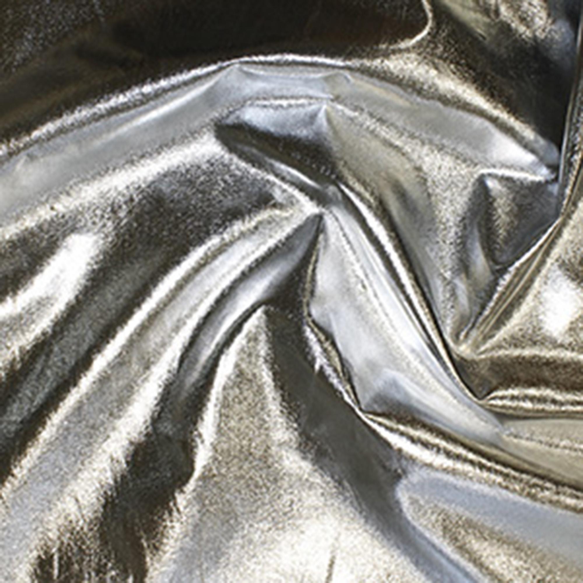 Silver Metallic Fabric, Fat Quarter, also known as Emperor Foil