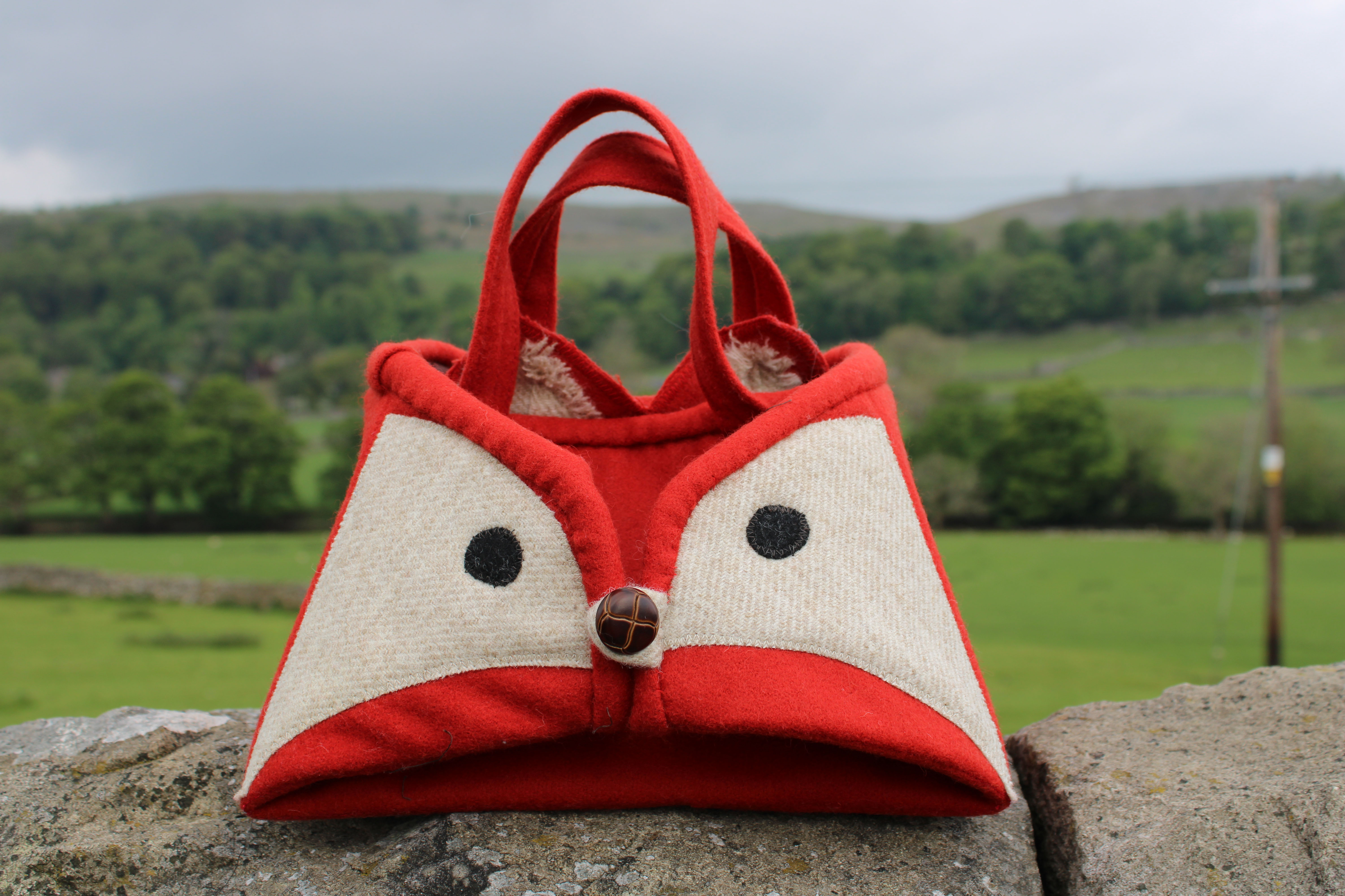 Sizzling Fox, Iron Caddy, Sewing Kit.