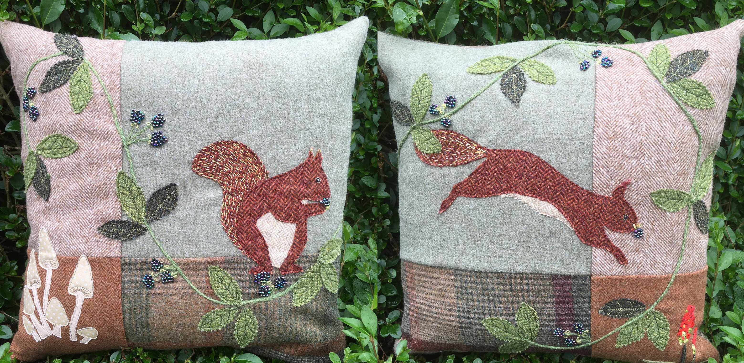 Squirrel cushion kit