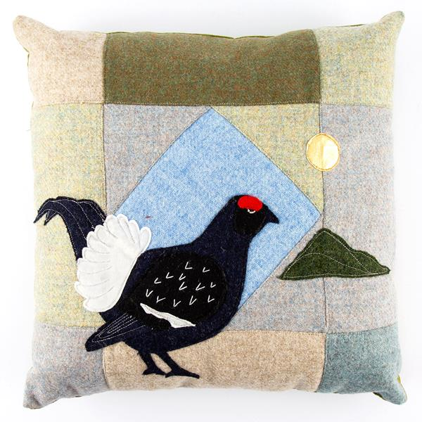 A Very Welsh Cushion sewing pattern