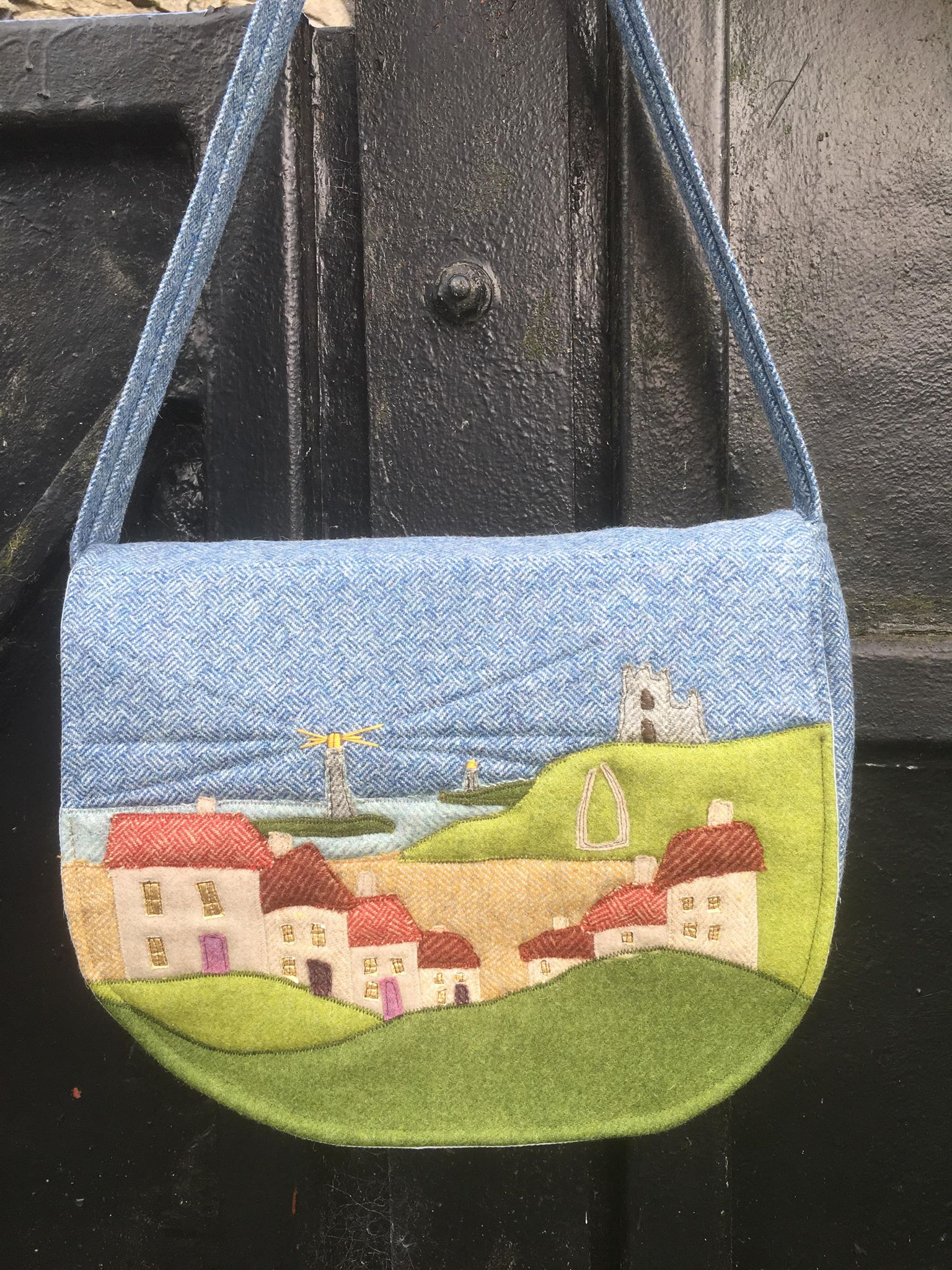 Whitby Heartbeat Handbag Sewing Pattern