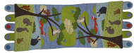 Wildlife Table Runner